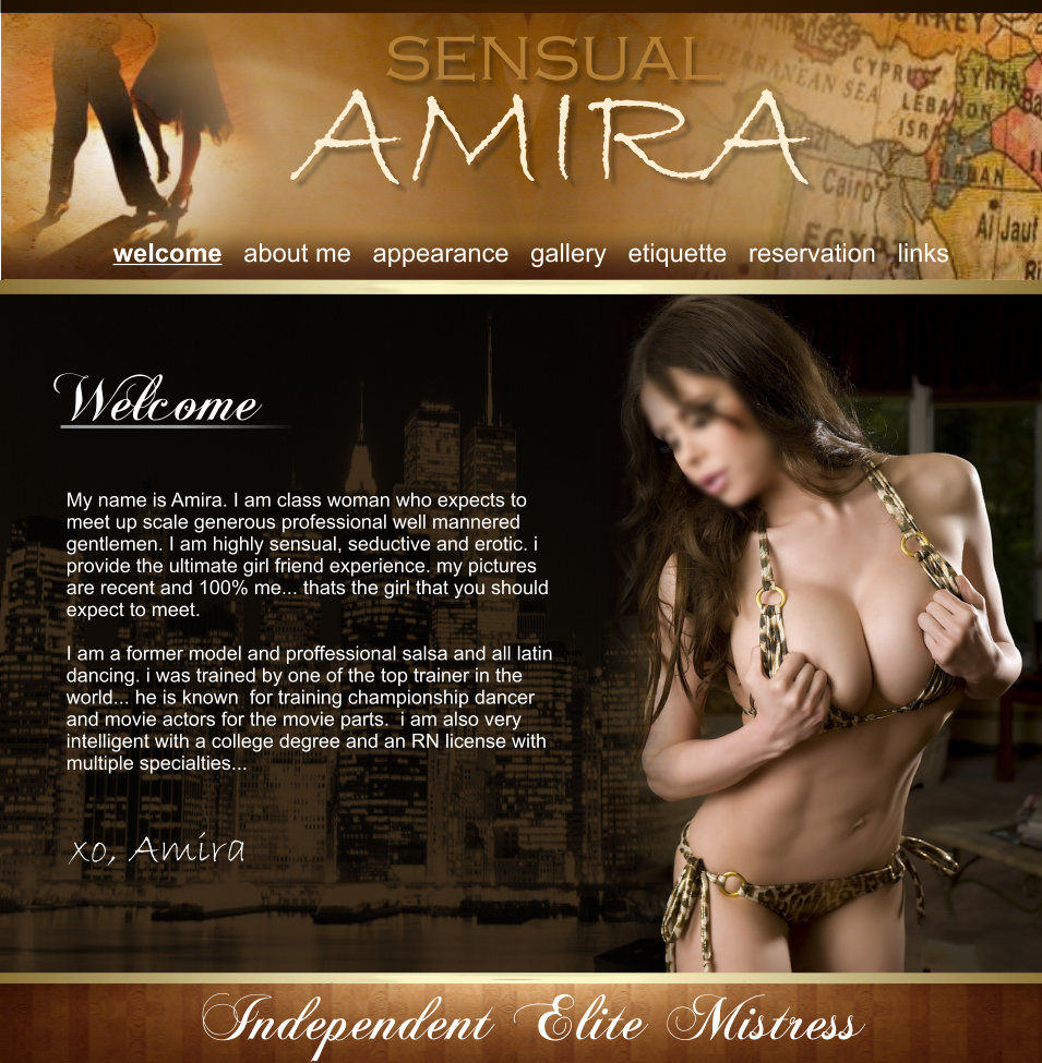 Independent Escort Sensual Amira