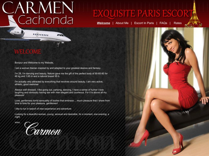 Design your free escort website